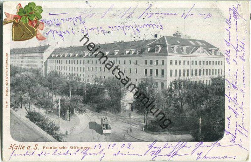 Halle (Saale) - Francke'sche Stiftungen - Verlag Louis Glaser Leipzig