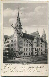 Halle (Saale) - Justizgebäude - Verlag Carl H. Odemar Magdeburg