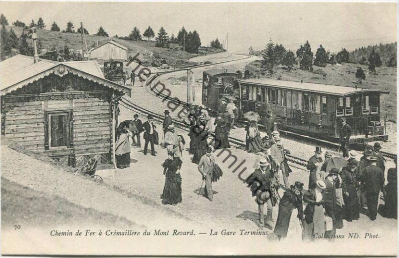 Aix-les-Bains - Chemin de fer du Mont Revard - La Gare Terminus