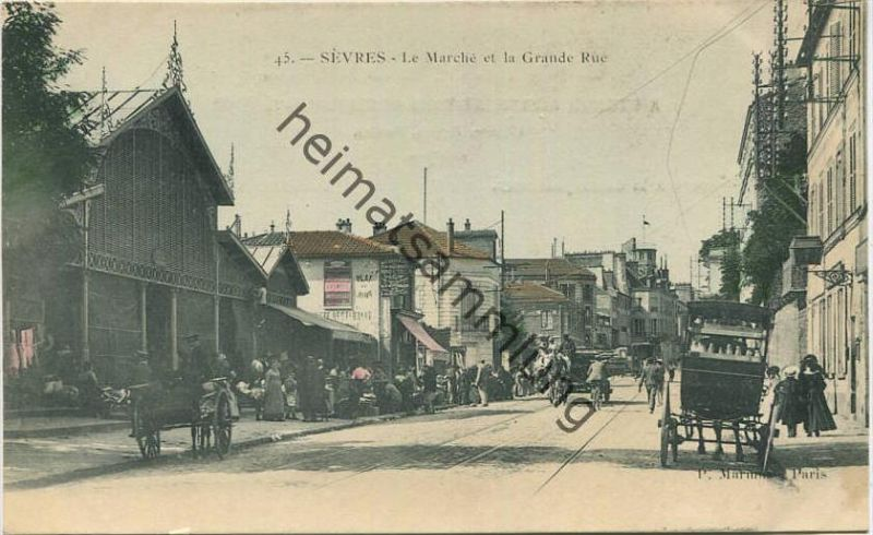 Sevres - Le Marche et la Grande Rue