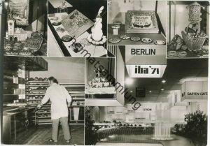 Berlin - Internationale Bäckerei-Fachausstellung - iba'71 - Foto-Ansichtskarte