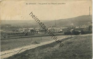 Epernay - Vue generale vers l' Hopital Auban-Moet