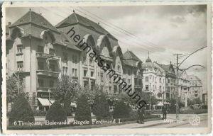 Timisoara - 1941 - Bulevardul Regele Ferdinand I. - Foto-Ansichtskarte