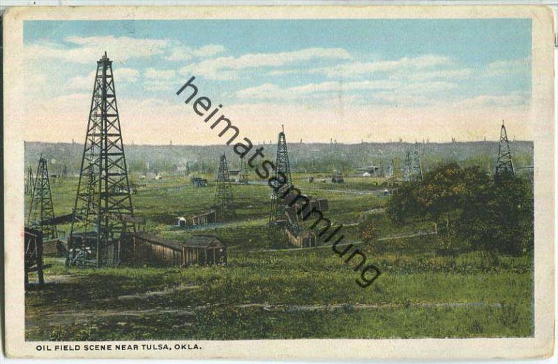 Tulsa Oklahoma - Oil field - Erdöl - oil