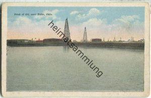 Tulsa Oklahoma - Pond of Oil - Erdöl - oil