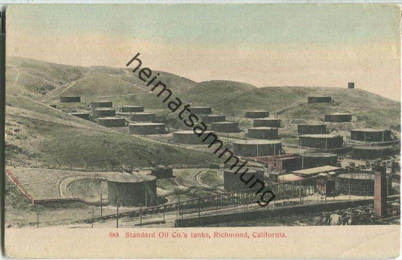 California - Richmond - Standard Oil Co.'s tanks - Erdöl - oil