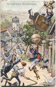 Arthur Thiele - Die abgerissene Kirchturmspitze - Ballon