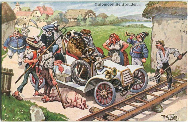 Arthur Thiele - Automobilistenfreuden