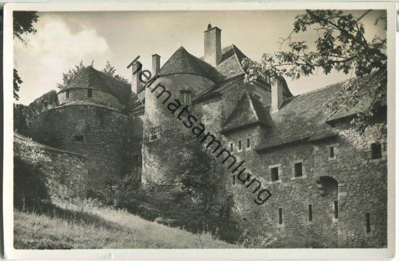 Schloss Fürstenstein - Zamek Ksiaz - Foto-Ansichtskarte