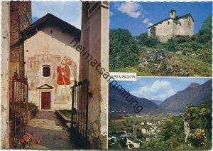 Malvaglia - Val Blenio - AK Grossformat