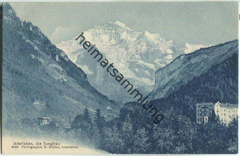 Interlaken - Jungfrau - Verlag R. Gabler Interlaken