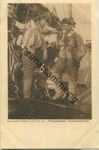 Hamburg - Deutsches Bundesschiessen 1909 - Finkenwärder Hochseefischer