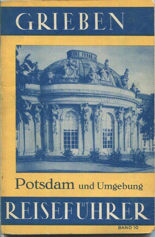 Potsdam - 1939 - Mit drei Karten - 84 Seiten - Band 10 der Griebens Reiseführer