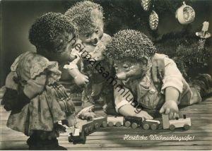 Mecki - Herzliche Weihnachtsgrüße - Nr. 109 - Verlag August Gunkel Düsseldorf