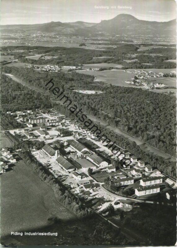 Piding - Industriesiedlung - Foto-Ansichtskarte