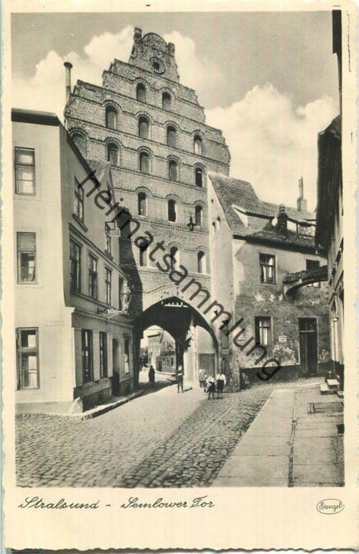 Stralsund - Semlower Tor - Foto-Ansichtskarte