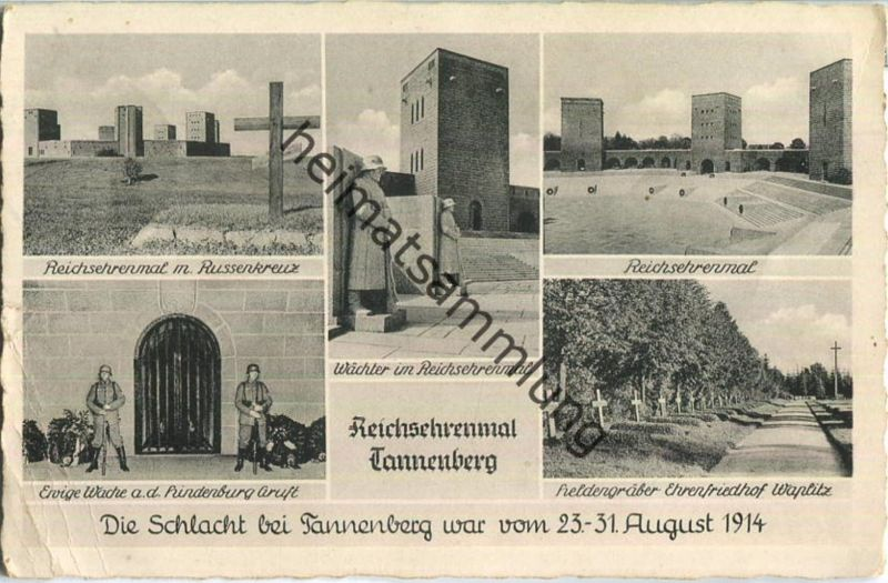 Reichsehrenmal Tannenberg - Briefstempel