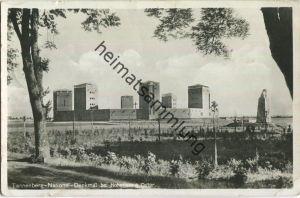 Tannenberg - National-Denkmal - Foto-Ansichtskarte - Briefstempel