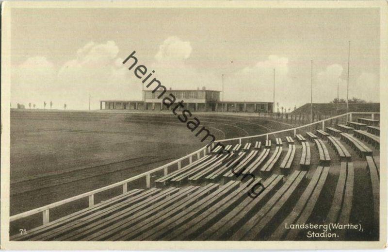 Gorzow Wielkopolski - Landsberg an der Warthe - Stadion