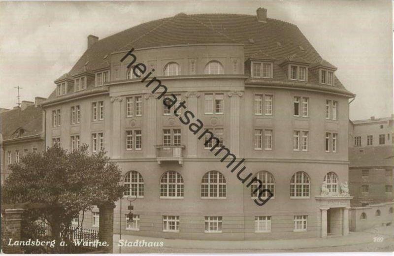Gorzow Wielkopolski - Landsberg an der Warthe - Stadthaus - Foto-Ansichtskarte 0