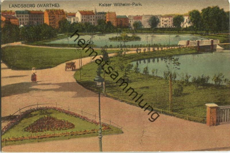 Gorzow Wielkopolski - Landsberg an der Warthe - Kaiser Wilhelm Park