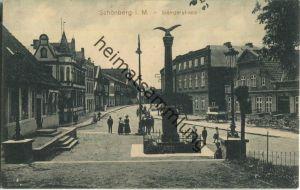 23923 Schönberg i. Mecklenburg - Siemzerstrasse - Verlag Thiele Schönberg - Feldpost