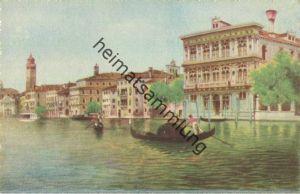 Venezia - Palazzo Vendramin - Verlag A. Srocchi Milano Venezia - Künstlerkarte