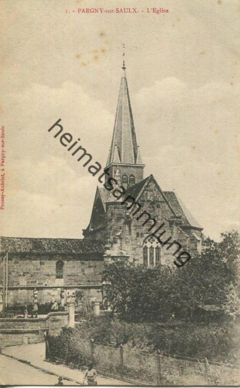 Pargny-sur-Saulx - L'Eglise - erlag Poussy-Aubriot Parguy-sur Saulx