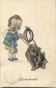 Bubenstreiche - Hund - Junge