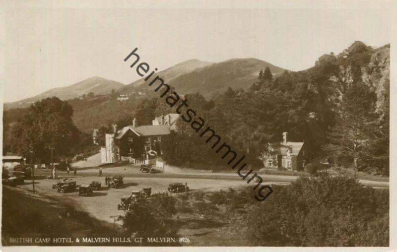 Malvern - British Camp Hotel & Malvern Hills - Foto-AK