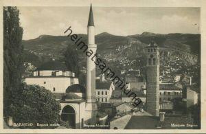 Sarajewo - Begova mesita - Begova Moschee - Foto-AK 30er Jahre