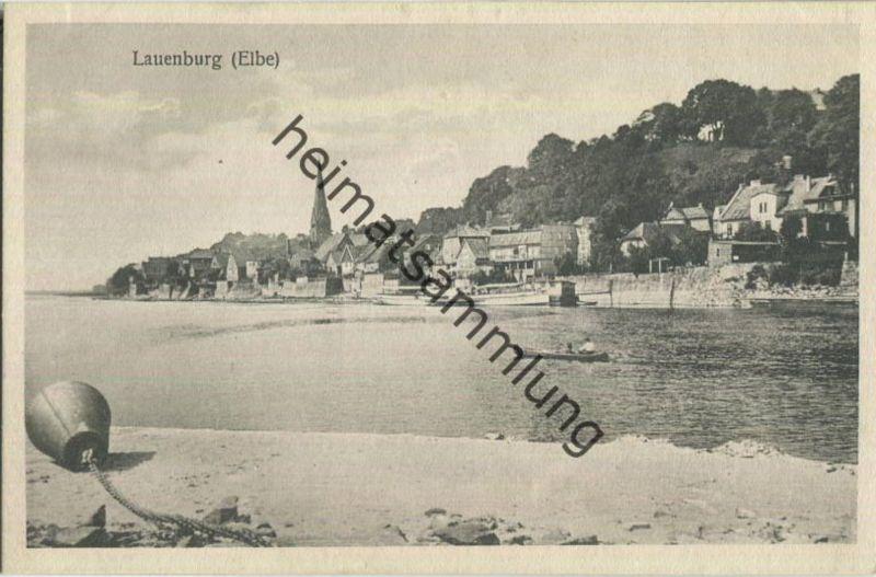 Lauenburg (Elbe) - Gesamtansicht 20er Jahre