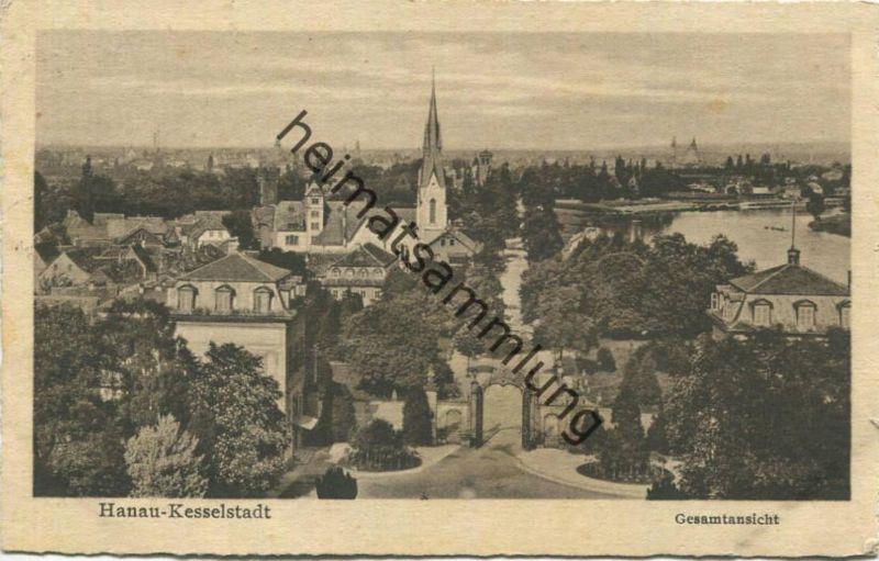 Hanau-Kesselstadt - Gesamtansicht gel. 1930