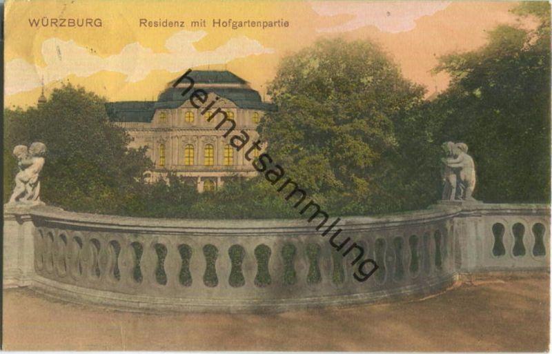 Würzburg - Residenz - Hofgarten