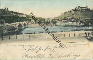 Würzburg - Käppele und Festung