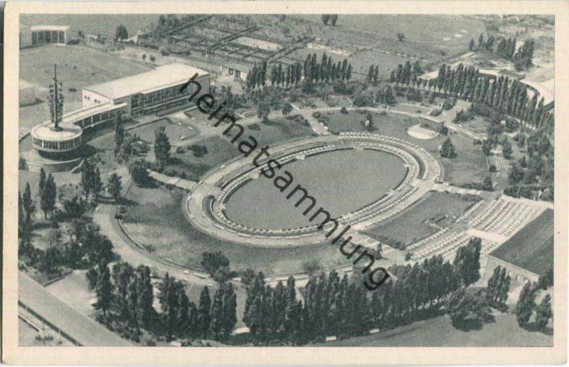 Berlin im Wiederaufbau - Sommergarten am Funkturm und George-Marshall-Haus - Film-Foto-Verlag Berlin 1951