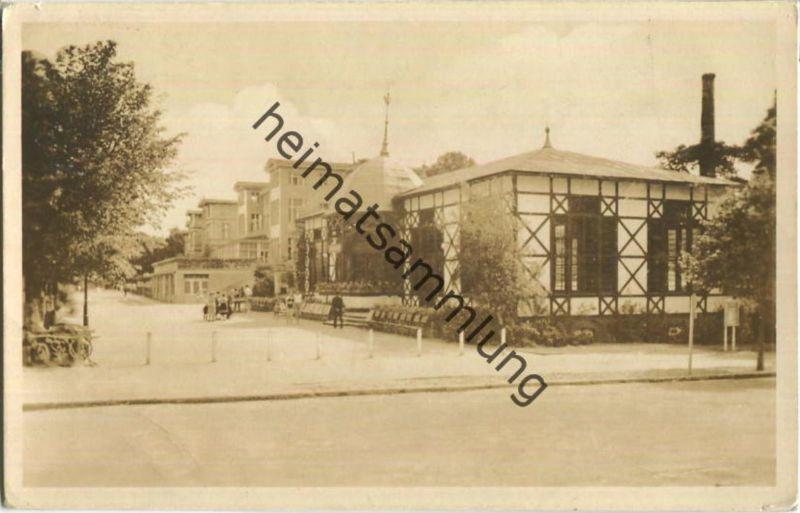 17454 Zinnowitz - Kurpromenade - Foto-Ansichtskarte - Verlag Thüringer Bilderdienst Erfurt