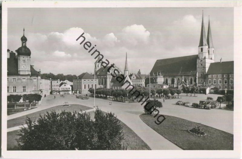 Altötting - Kapellplatz - Foto-Ansichtskarte