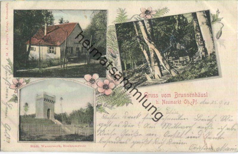 Neumarkt in der Oberpfalz - Brunnenhäusl - Wasserwerk Hochreservoir 0