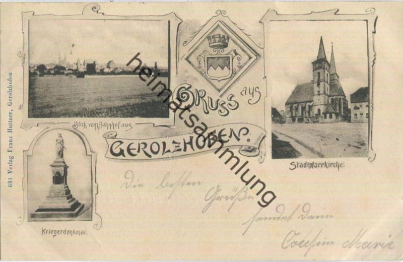 Gerolzhofen - Stadtpfarrkirche - Kriegerdenkmal 0