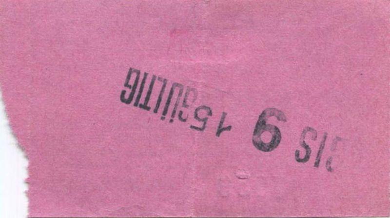 Österreich - Wien - Ohne Pause Kino am Graben 29 C. Swoboda & Co. Wien I - Kinokarte 1