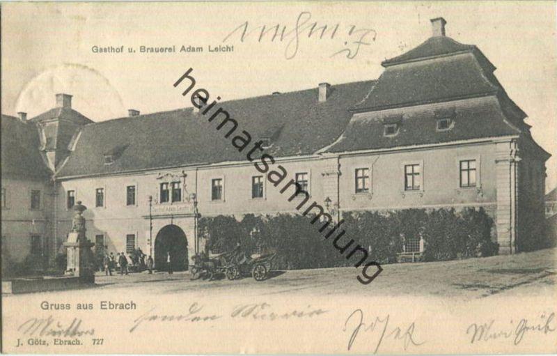 Ebrach - Gasthof und Brauerei Adam Leicht
