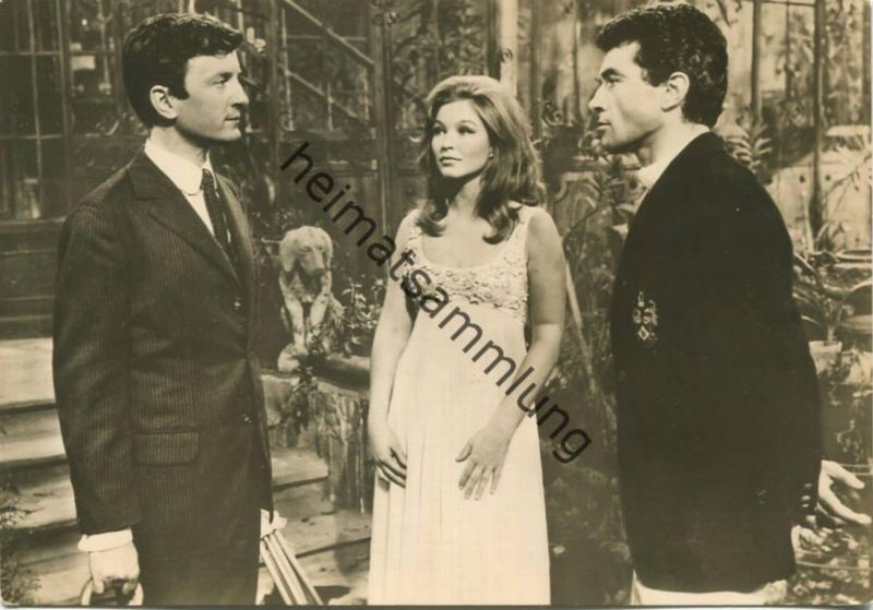 Marina Vlady - Cristea Avram - Claude Rich - VEB Progress Film Vertrieb Berlin 1966