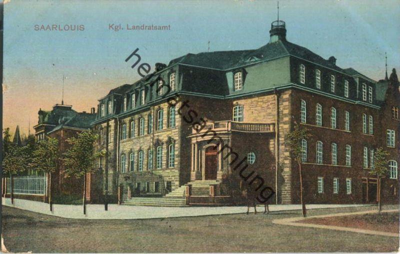Saarlouis - Landratsamt - Feldpost