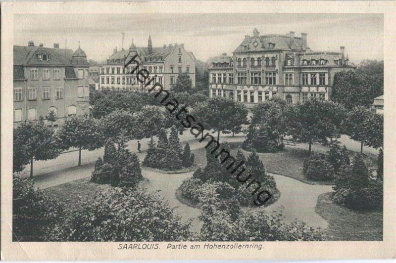 Saarlouis - Hohenzollernring - Feldpost