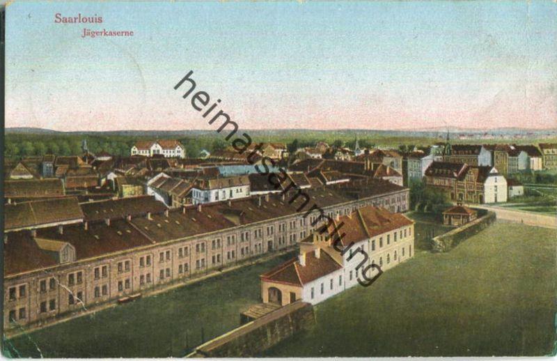 Saarlouis - Jägerkaserne - Feldpost