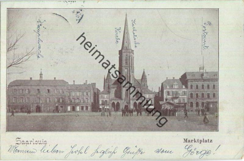 Saarlouis - Marktplatz