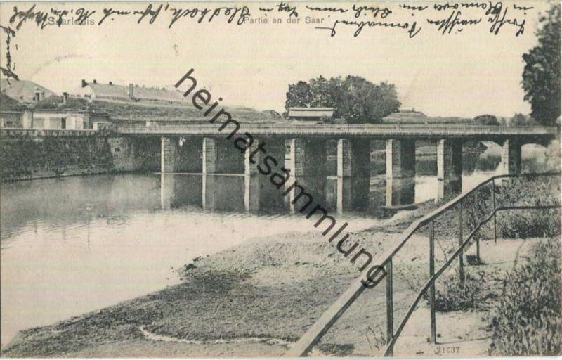 Saarlouis - Saar - Brücke