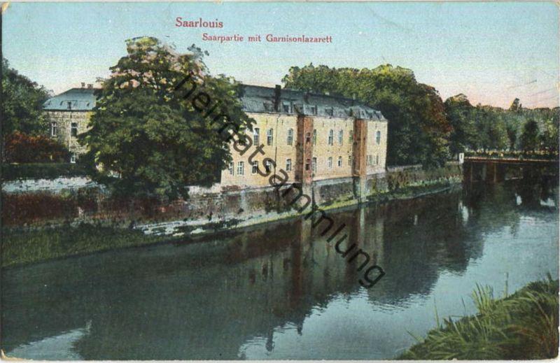 Saarlouis - Garnisionslazarett - Saar - Feldpost 0
