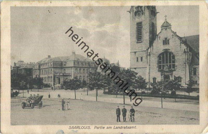 Saarlouis - Partie am Landratsamt - Feldpost